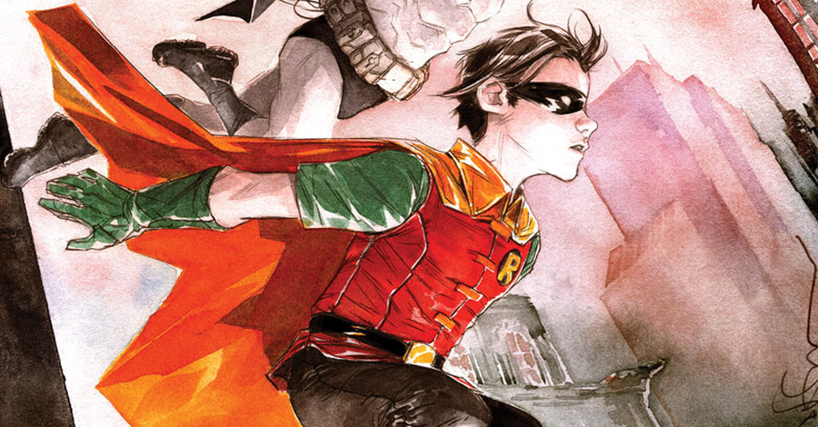 Nguyen + Lemire team up for a tale about Dick Grayson's early career