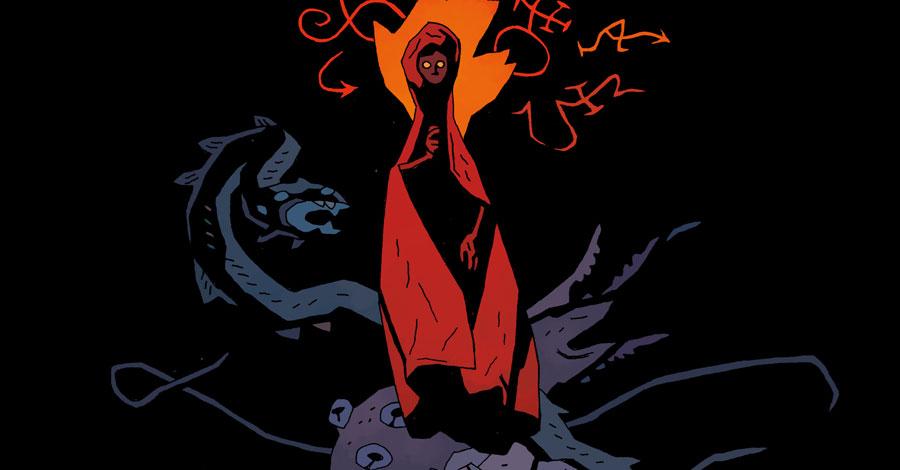 Mignola will write + draw a new Hellboy-verse comic