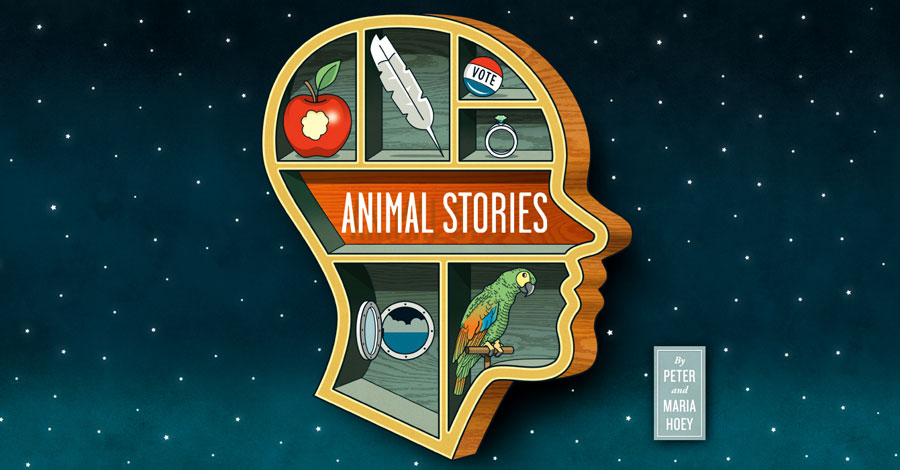 Top Shelf will publish Peter and Maria Hoey's 'Animal Stories'