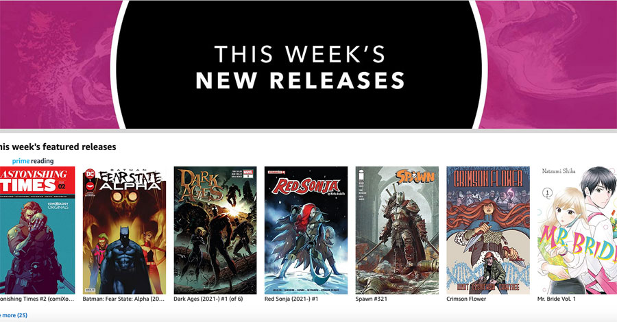 A new comiXology experience is coming this fall