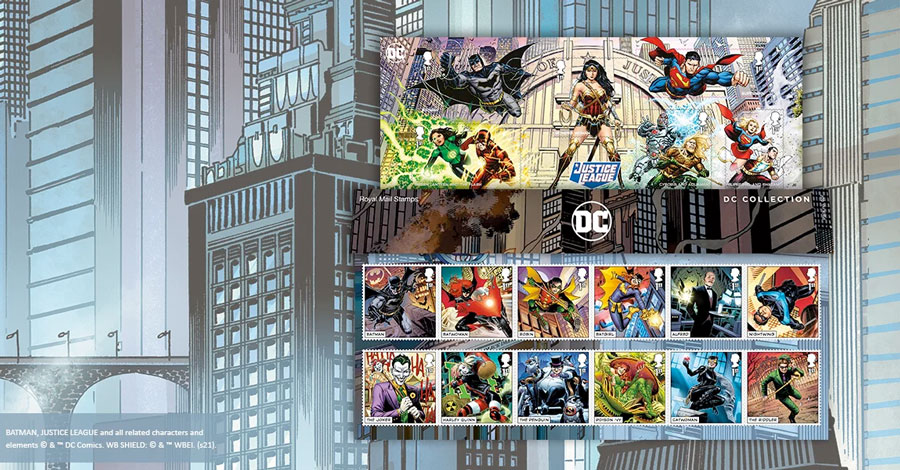UK's Royal Mail will issue DC stamps later this month