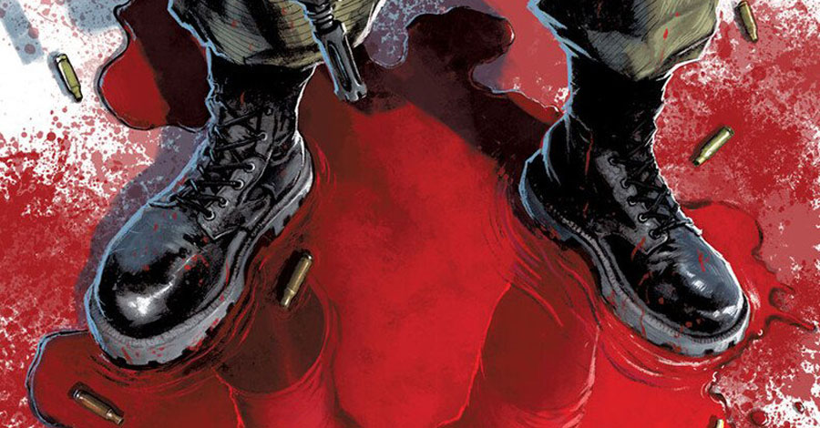 Garth Ennis returns to DC for a Peacemaker one-shot