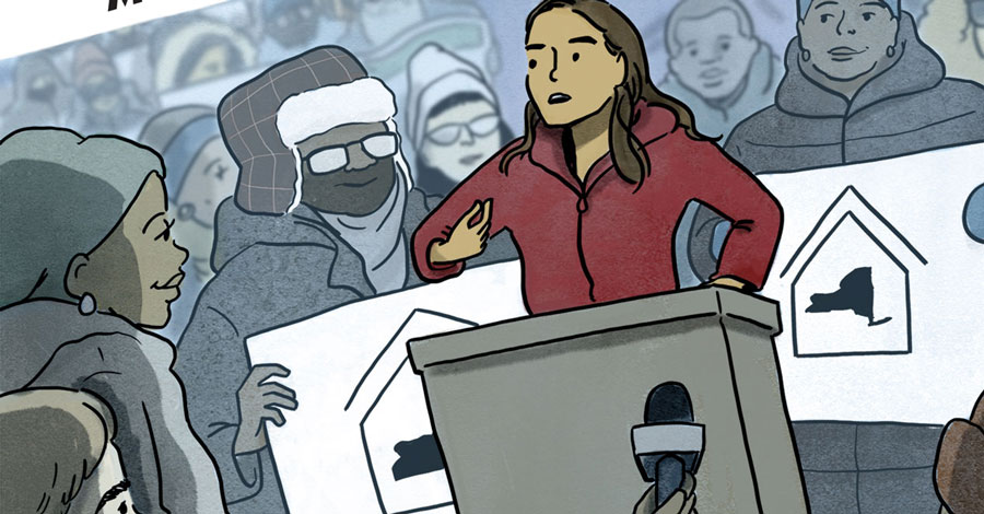 New graphic novel will cover NY State Senator Julia Salazar's first year in office