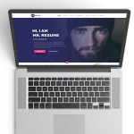 Mr. Resume Web Template