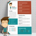Creative Cartoon Resume