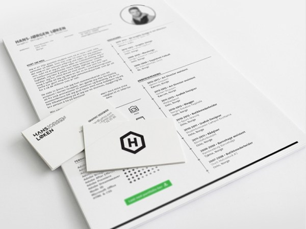 Free Indesign Resume Template with Clean and Simple Design