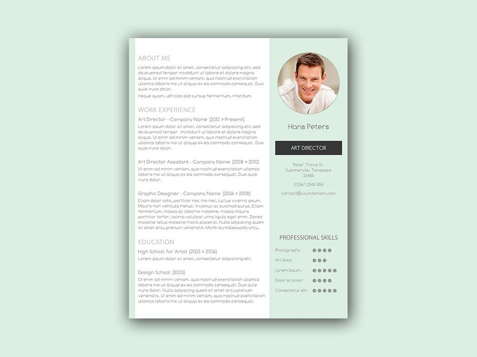Streamlined Resume Template