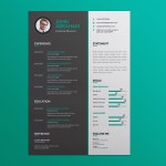 Vector Green Resume