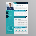 Flat Pro Resume
