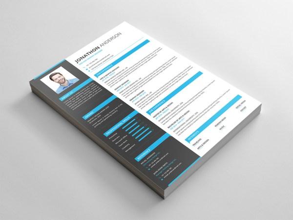 Free Formal PSD CV Template