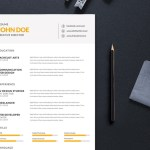 Simple Editable Resume