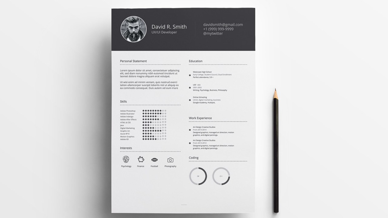 Infographic Resume Template from i2.wp.com