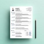 Marketing CV Template