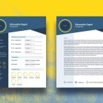 Infographic CV Template