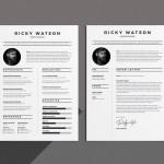 Clean Minimalist Resume