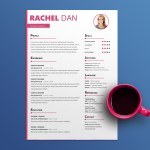 Fashion Feminine Resume