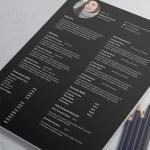 Minimalist PSD CV