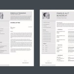 Minimal Eye-catchy Resume