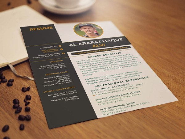 Free Creative Resume Template for Your Next Job Opportunity