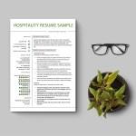 Hotel Front Desk Resume