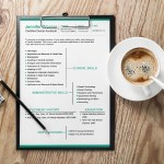 Dental Resume Template