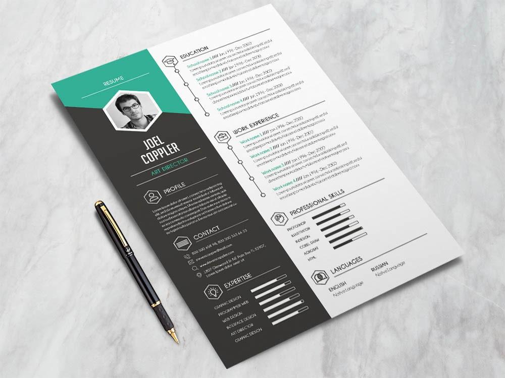 Free Modern General Resume Template