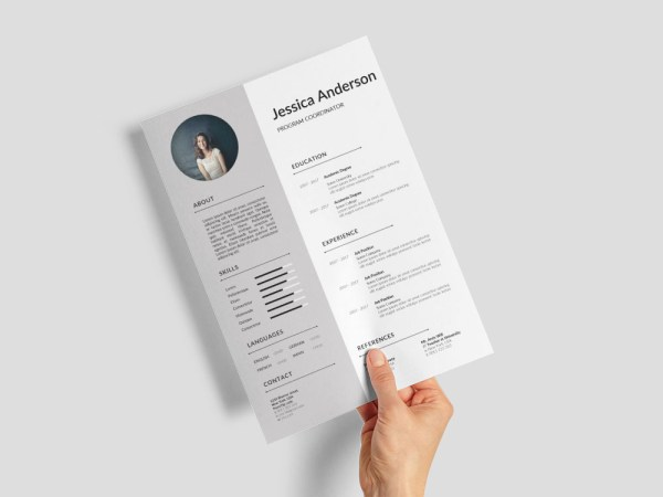 Free Program Coordinator Resume Template for Job Seeker