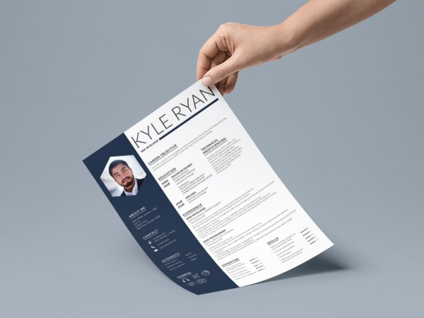 Free Website Developer Resume Template with Sample Text