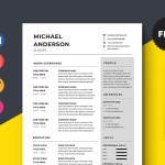 Glazier Resume Template