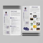 Simple 2 Pages Resume Template