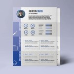 A4 Paper Size Resume