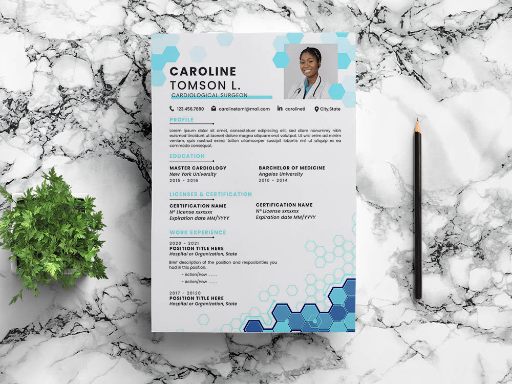 Free Cardiologist Resume Template