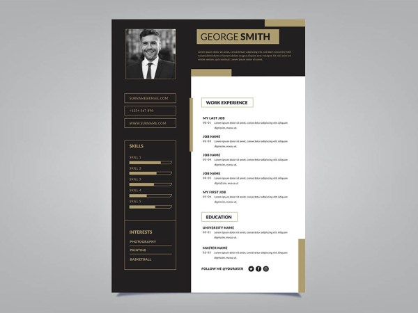 Free Branch Manager Resume Template