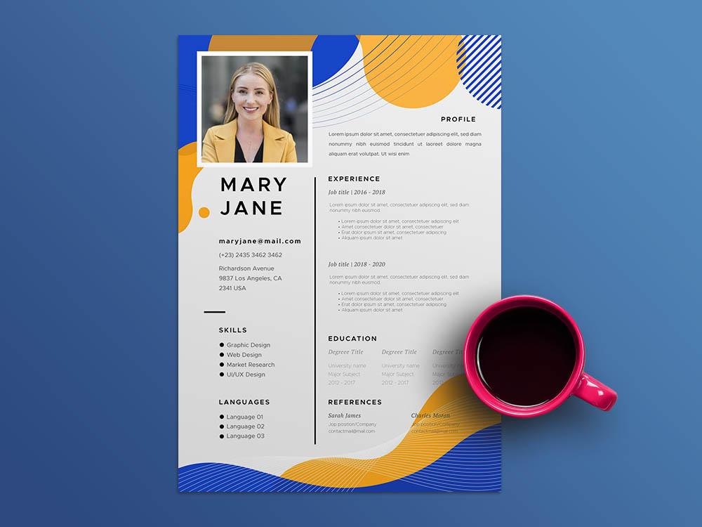 Free Marketing Coordinator Resume Template