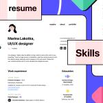 Minimal Figma Resume