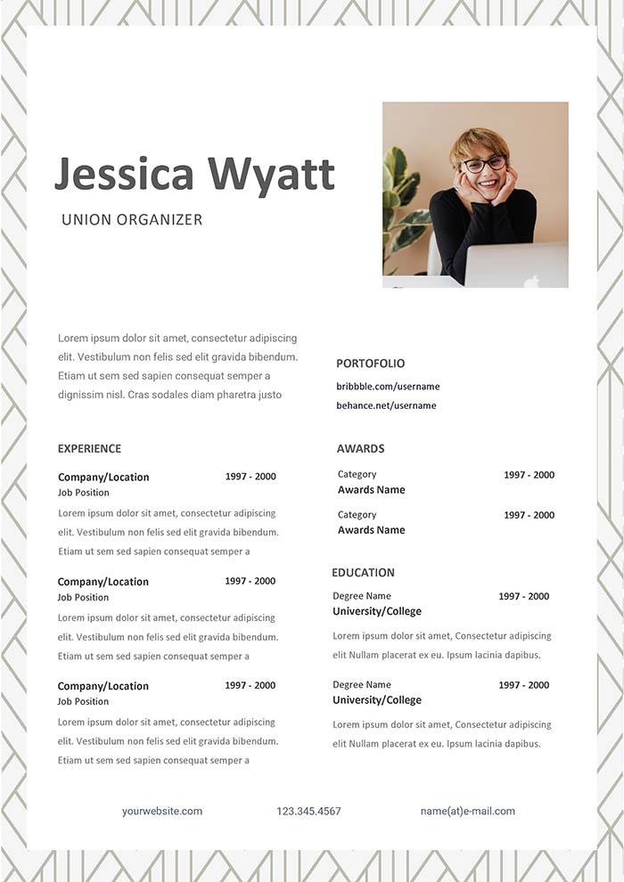 Union Organizer Resume