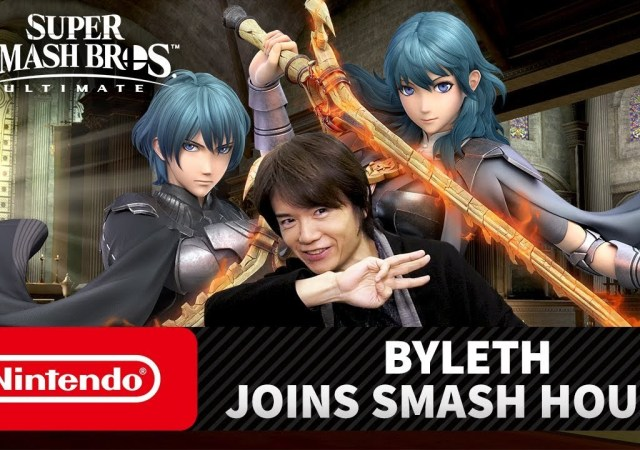 BYLETH FROM THE FIRE EMBLEM SERIES JOINS THE ROSTER OF SUPER SMASH BROS. ULTIMATE