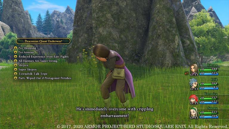critically acclaimed DRAGON QUEST XI