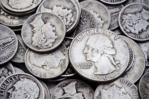 pre 1965 silver quarters and dimes
