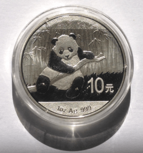 Chinese Silver Panda Coin 2014