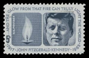 1964 Kennedy stamp