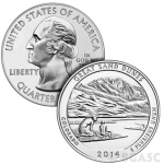 Great sand dunes america the beautiful coin