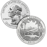 White Mountain america the beautiful silver coins 2013
