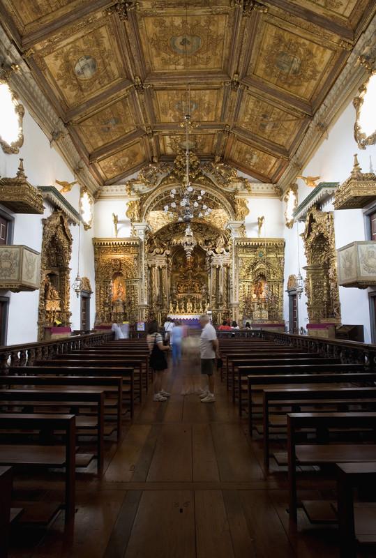 minas gerais church interior