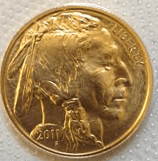 gold buffalo coin