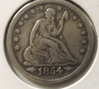 1854 with arrrow quarter