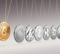 Cryptocurrencies bitcoin ether and litecoin