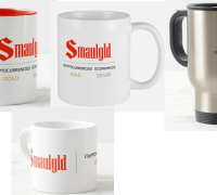 four smaulgld mugs