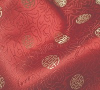 Chinese silk for silver