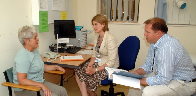 Follow Up Appointment NOC Outpatients - Oxford - Dr Sally Trent